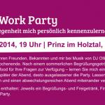 Einladung After Work Party Holztal, Hilkerode