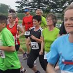 Viola von Cramon nimmt am Lauf teil