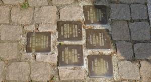 Stolpersteine in der Obertorstraße