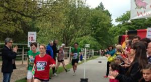 Viola von Cramon beim Warte-Wehnsche-Lauf